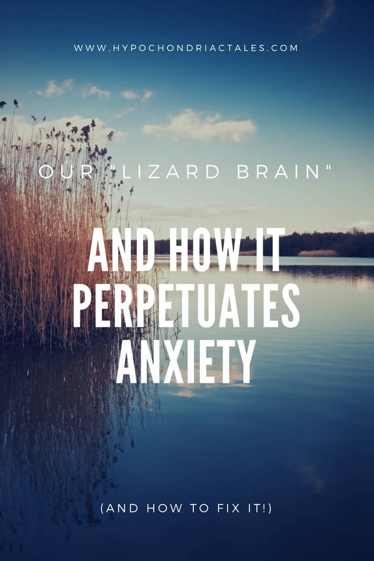 The Lizard Brain and how it Perpetuates Anxiety